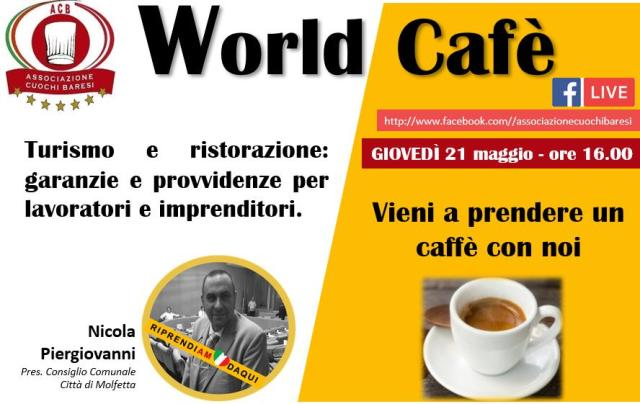 WORLD CAFE' 21-05-2020 ORE 16:00